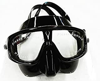 Sopras Sub SFERICA freediving mask goggles black similar To sphere mask aqualung rated as one best freediving and snorkeling mask
