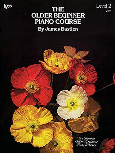WP33E THE OLDER BEGINNER PIANO COURSE - LEVEL 2 (The Bastien Older Beginner Piano Library)