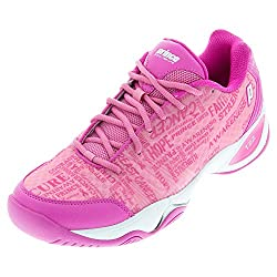 lighter pink pickleball shoes