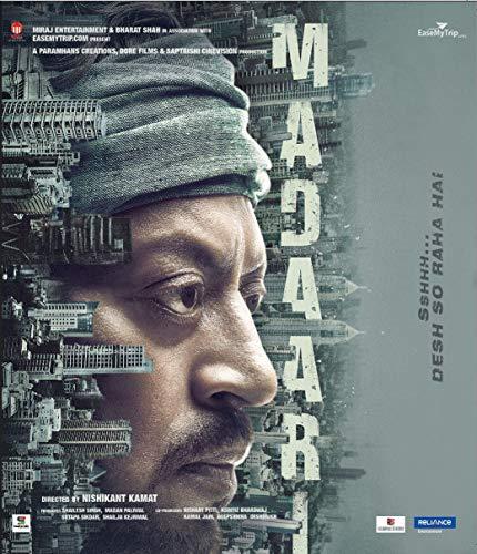 Madaari Hindi Blu Ray ( English Subtitles, All Regions )