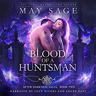 Blood of a Huntsman (A Vampire Paranormal Romance) cover art