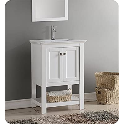 Buy Fresca Manchester 24 White Traditional Bathroom Vanity Online In Hungary B074fch9jc
