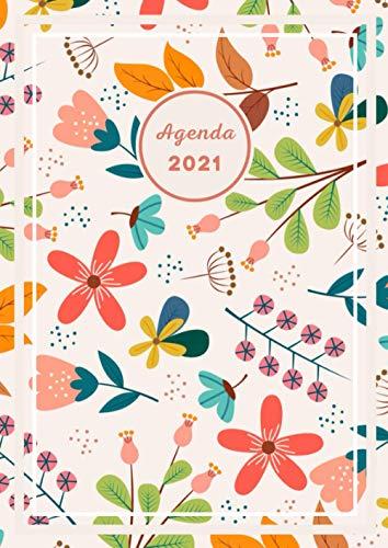 Agenda Diaria Español 2021: Planficador 2021 | Calendario 2021 1 de enero de 2021 al 31 de diciembre de 2021 | Diario, organizador y planificador con vista semanal | XXL 21x29,7 cm A4, Pro
