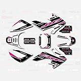Pink Shift Graphic Kit fits Honda 04-19 CRF50...
