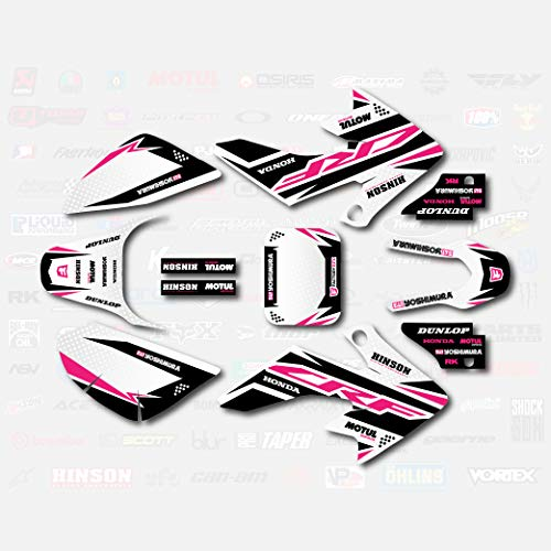 Pink Shift Graphic Kit fits Honda 04-19 CRF50 Shroud Decal CRF 50 pitbike
