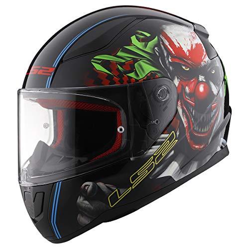 LS2 Helmets Full Face Rapid Street Helmet (Happy Dreams - Large)