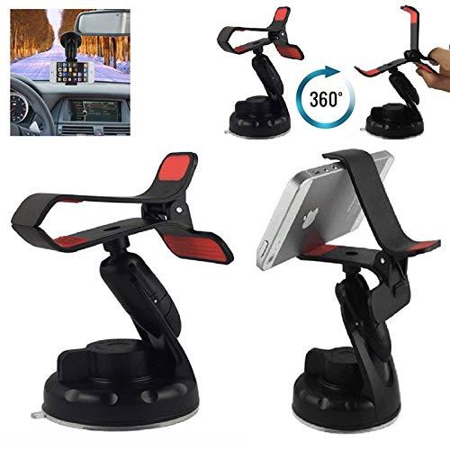 Handyhalterung Auto Windschutzscheibe Armaturenbrett 360 Drehung Einstellbare mit Klammer für Swistel eSmart H1/eSmart E2 Phone