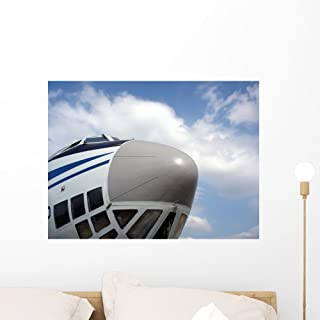 Wallmonkeys FOT-7505386-24 WM256249 The Nose of Cargo Aircraft Peel and Stick Wall Decals (24 in W x 18 in H), Medium