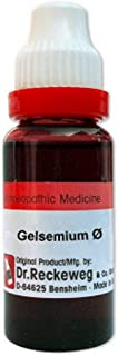 Dr. Reckeweg Homeopathy Gelsemium Sempervirens Mother Tinctures Q (20 ML) by USAMALL