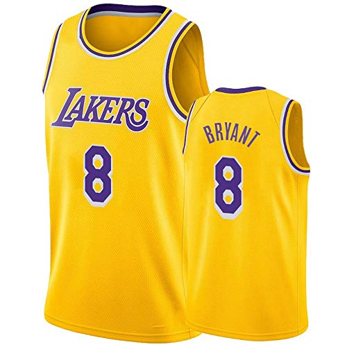 ULIIM Camiseta De Baloncesto Kobe Bryant Jersey-LA Lakers # 8 / # 24 Jersey Deportivo, Sin Mangas Ropa Deportiva Entrenamiento Swingman Jersey (S-XXL)