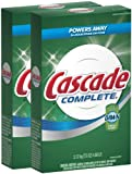 Cascade Complete Powder All-in-1 Dishwasher Detergent - 75 oz - Fresh - 2 pk