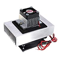 DIY 12V 72W電子半導体冷凍DIYエアチリシステムリトルエアコン 丈夫な