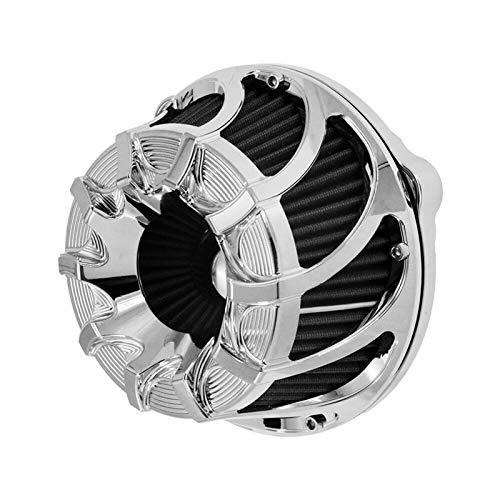 Filtro de Aire de Motocicleta CNC Limpiador de Aire Cubierta de Filtro de Aire de Motocicleta para XL883 1200 48 (Color : Air Cleaner Filter C)