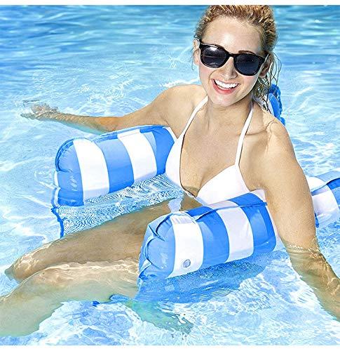 Lettino galleggiante per acqua, amaca, sedia da salotto, amaca da acqua, gonfiabile, sedia a sdraio per mare piscina