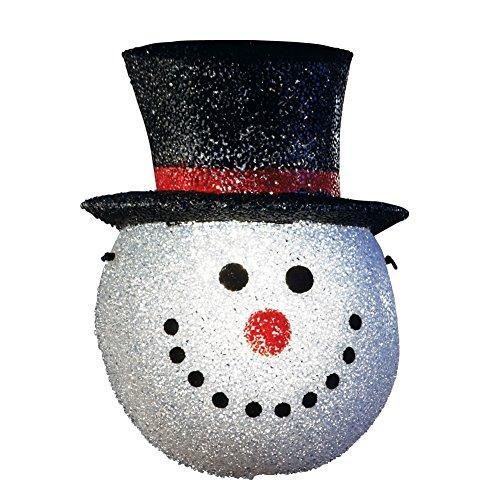 Holiday Snowman Head Porch Light Cover Snowman