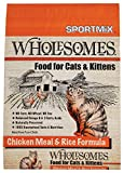 Sportmix Wholesomes Chicken Meal And Rice Formula Dry Cat Food, 15 Lb.
