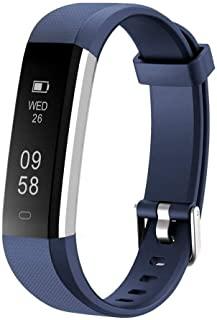 Letsfit Fitness Tracker, Slim Activity Tracker with Heart Rate Monitor, Pedometer Watch, Sleep Monitor, Step Counter, Calo...