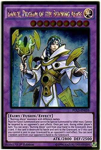 Yu-Gi-Oh! - Dante, Pilgrim of the Burning Abyss (PGL3-EN058) - Premium Gold: Infinite Gold - 1st Edition - Gold Rare by Yu-Gi-Oh!