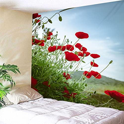 biejuyige Tapiz De Pared Planta Flores Hippie Colgante De Pared Bohe Tapices De Pared Mandala Sandy Beach Mantas A68 240X260Cm