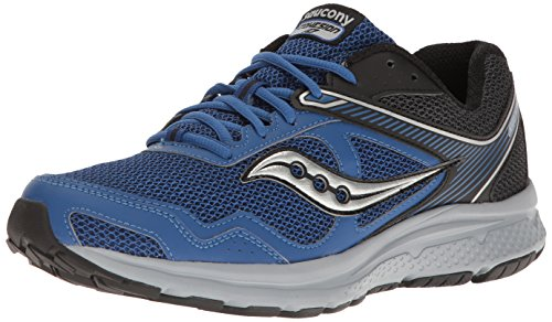 Saucony Men's Cohesion Running Shoe, Royal/Black, 10 M US
