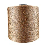 JINAN 700 m 100 g/bola de seda de hielo mercerizado hilo especial de lentejuelas tejido a mano muñeca de trapo manta de lana (color: 22)