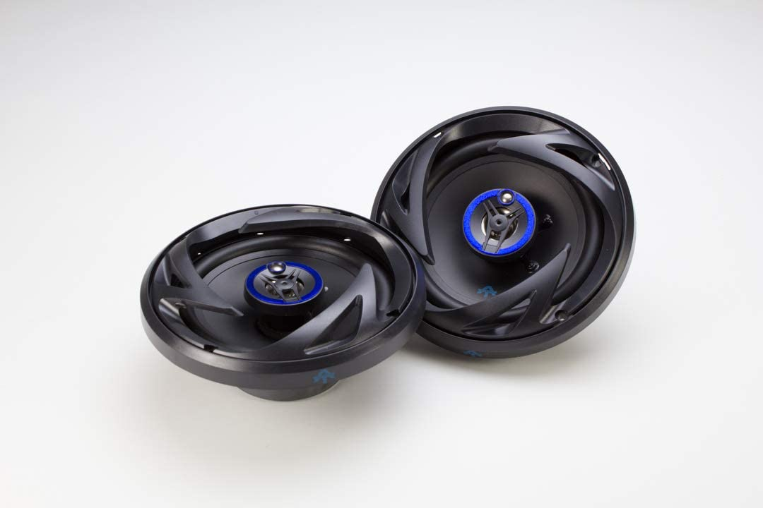 Autotek Recommended ATS653 6.5 Inch 3 Way Blue and Speakers Car Pair Black Max 77% OFF
