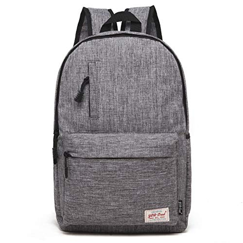 ZZjingli Universal Multi-Function Canvas Laptop Computer Shoulders Bag Leisurely Backpack Students Bag, Small Size: 37x26x12cm, For 13.3 inch and Below Macbook, Samsung, Lenovo, Sony, DELL Alienware,