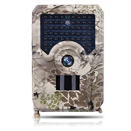 SUGERYY - Telecamera da caccia, HD 1080p, 42 LED, visione notturna, 12 MP PR-200., 32GB