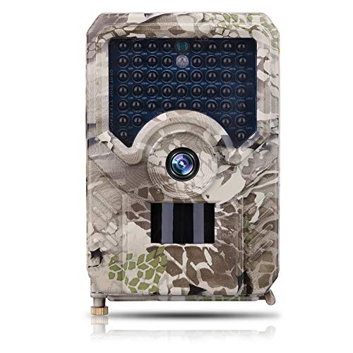SUGERYY 12MP Hunting Trail Camera HD 1080P 42LED Wildlife Scouting Cam Night Vision IR Camera