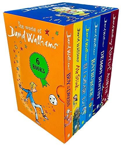 David Walliams Collection 6 Books Set