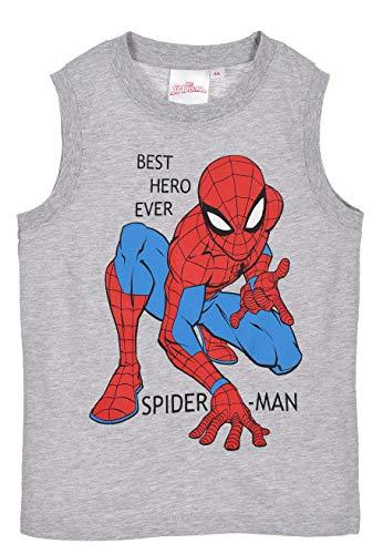 Spiderman Niños Camiseta Sin Mangas