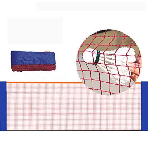 PQXOER Red de bádminton de 6,1 m de nailon, plegable, portátil, red...