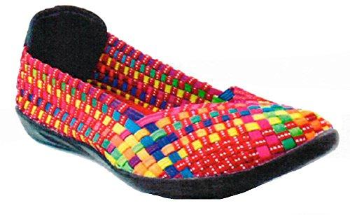 Bernie Mev Zapatos planos trenzados para mujer