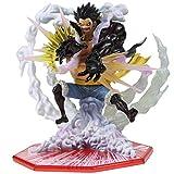 Holiny One Piece Anime Pop Monkey D Luffy PVC Figura De Acción Modelo Juguetes 17Cm...