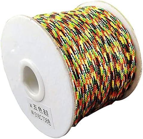 FC-05576 DIY-Jewelry 50M Roll New mail order Folk Braid Cord + 2. Nylon Cheap super special price Braided