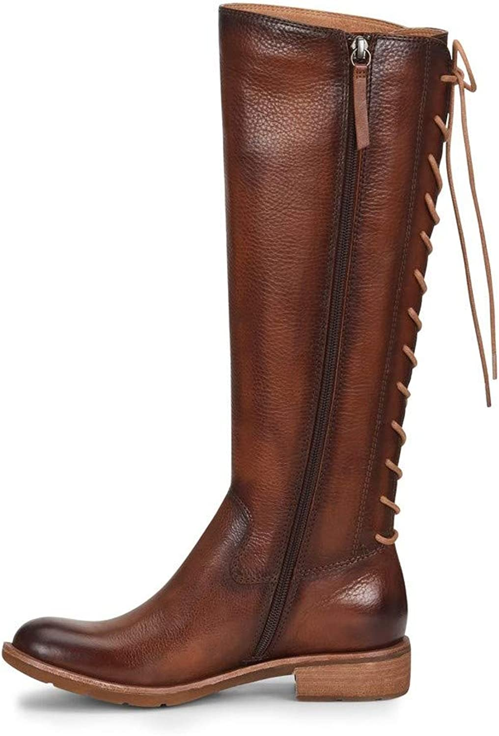 Sofft Womens Sharnell Ii Leather Round Toe Knee High Fashion, Whiskey, Size 9.0
