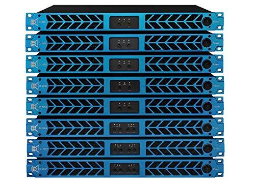 New CVR D- 3002 Series Professional Power Amplifier One Space 3000 Watts x2 @ 8Ω
