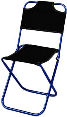 LOO LA Taburete Plegable portátil, Mini Paso Slacker Taburete Camping sillas Plegables al Aire Libre