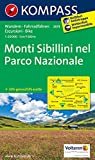Monti Sibillini 1 : 50 000: Wanderkarte mit Radtouren.