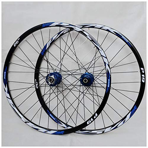VPPV 26/27.5/29 Inch Mountain Bike Wheelset, Aluminum Alloy Disc Brake MTB Cycling Wheels for 7/8/9/10/11speed (Size : 29INCH)