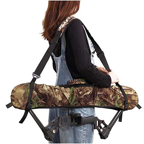 Bolsa de arco y flecha - Compuesto Polea bolsa de arco - lleva el bolso de caza al aire libre de disparo de tiro con arco arco Mochila para el almacenamiento de arco compuesto, Flecha, Caja de
