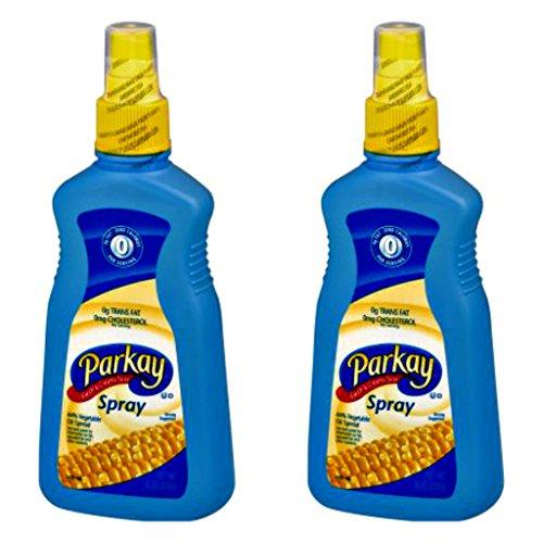 Parkay Vegetable Oil Spray Bottle - 8 Ounce - Pack of 2