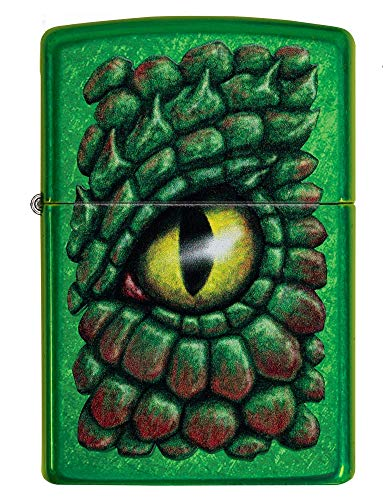 Zippo Dragon Eye Feuerzeug, Messing, Design, 5,83,81,2