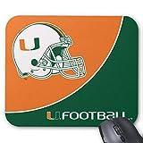 BGLKCS University of Miami Football Mouse Pad (Miami)