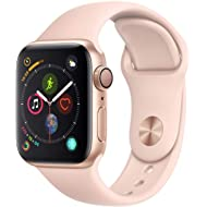 AppleWatch Series4 (GPS, 40mm) - Gold Aluminium Case with Pink Sand Sport Band