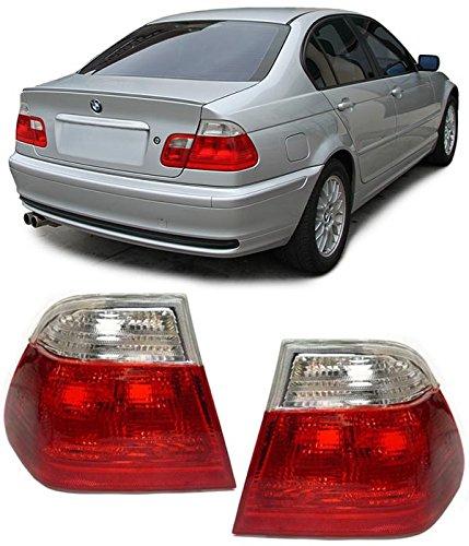 Carparts-Online 10044 Rückleuchten rot weiß klar Facelift Optik