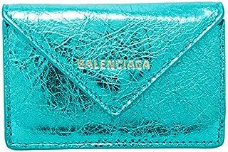 バレンシアガ BALENCIAGA 財布 ミニ財布 ペーパー ミニ ウォレット メタリックエフェクト 391446 0GT4N 4210