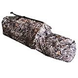 THUNDERBAY Band Collector Foldable Layout Blind, 600D Polyester Hunting Blind for Duck Hunting, 82' Long 27' Wide 17.5' Tall, Aluminum Frame Duck Blind