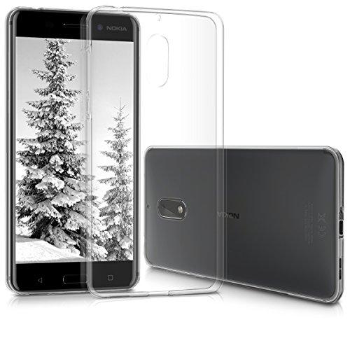 kwmobile Nokia 6 (2017) Hülle - Handyhülle für Nokia 6 (2017) - Handy Case in Transparent