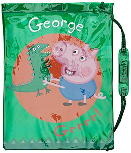 Peppa George Pig-Costume Dino (Trademark Collections PEPPA002023)